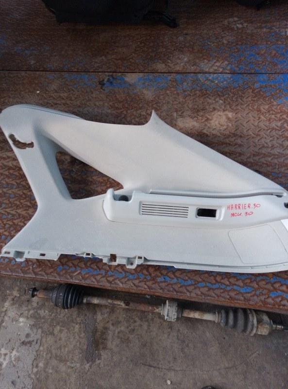 Пластик багажника Toyota Harrier MCU30 1MZ 2005 правый верхний (б/у)