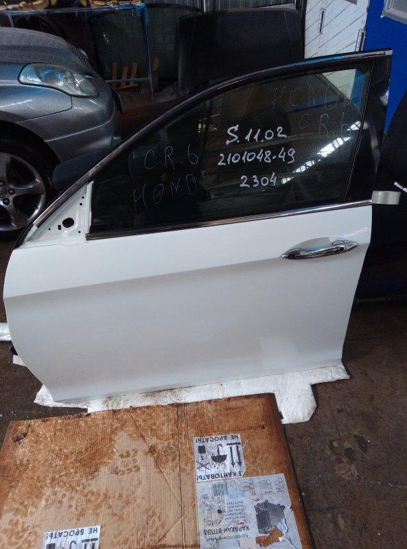Дверь Honda Accord CR6 LFA-M передняя левая (б/у)
