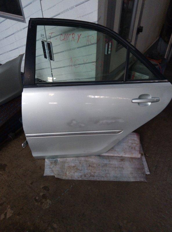Дверь Toyota Camry ACV30 2AZ задняя левая (б/у)