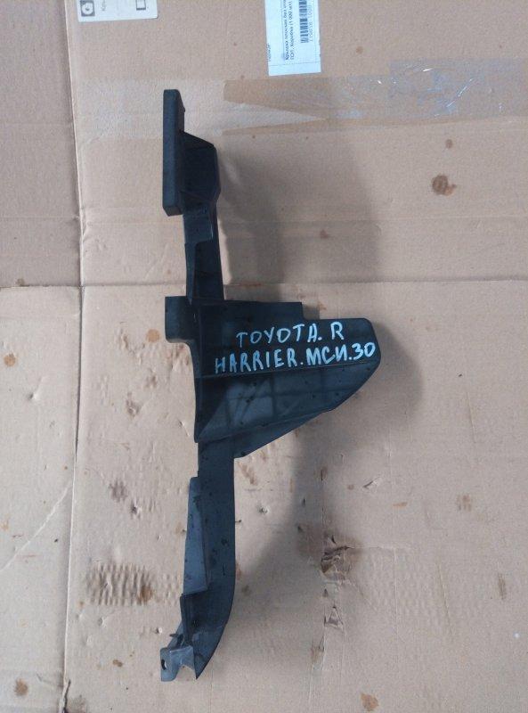 Защита радиатора Toyota Harrier MCU30 1MZ 2005 правая (б/у)