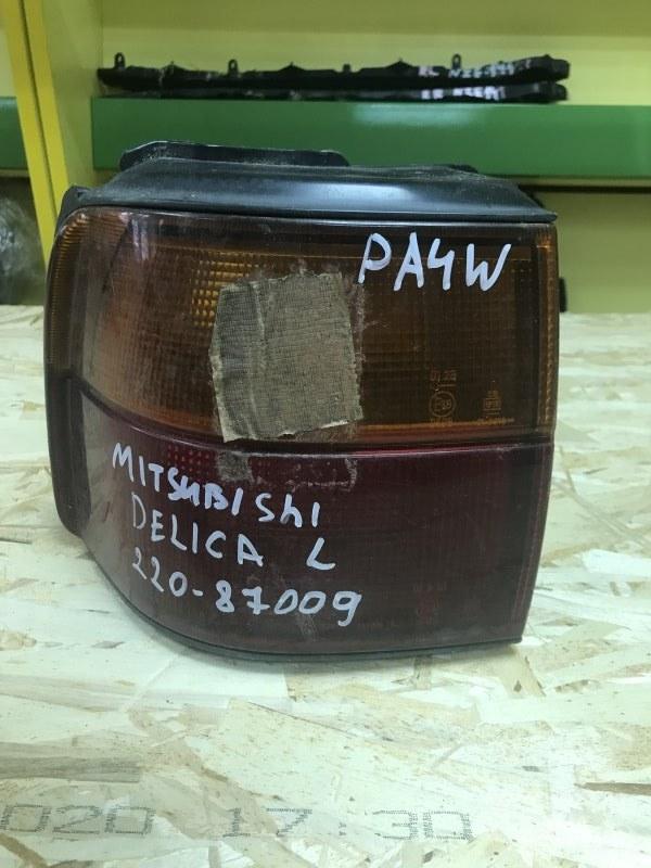 Стоп-сигнал Mitsubishi Delica PA4W левый (б/у)