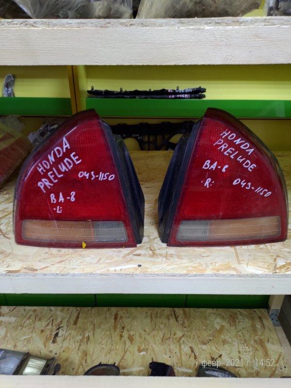 Стоп-сигнал Honda Prelude BA-8 левый (б/у)