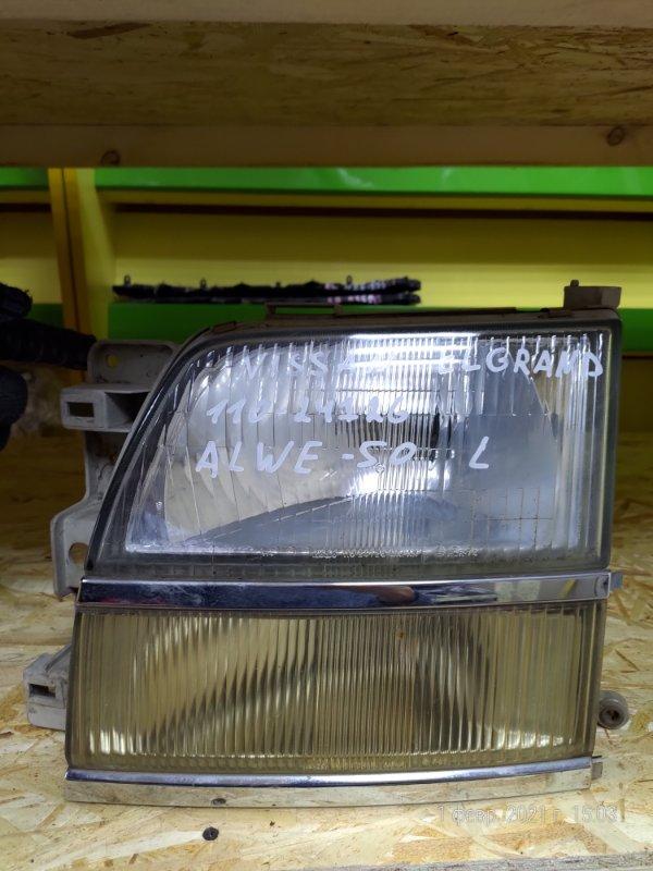 Фара Nissan Elgrand AVE50 левая (б/у)