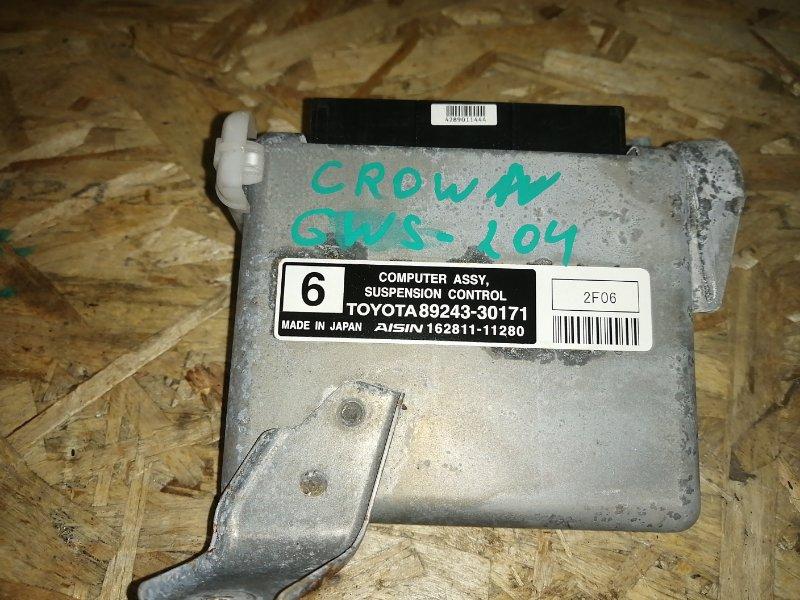 Блок управления подвеской Toyota Crown GWS204 2GR 2012 (б/у)