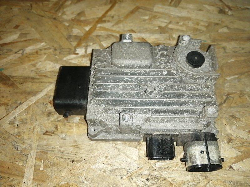 Блок управления масляным насосом Toyota Crown GWS204 2GR 2012 (б/у)