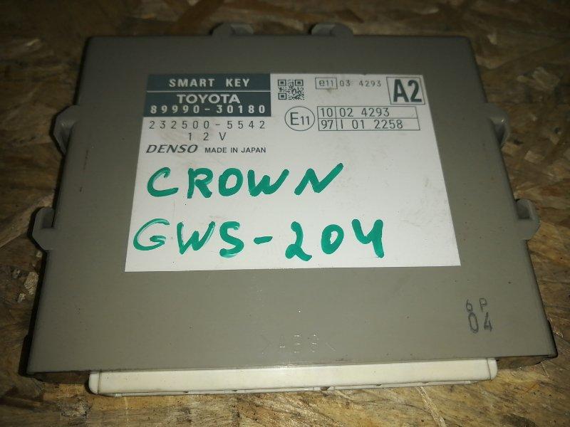 Блок иммобилайзера Toyota Crown GWS204 2GR 2012 (б/у)