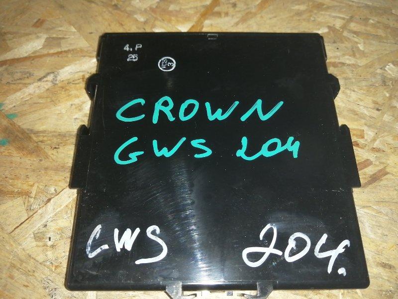 Блок управления зарядкой аккумулятора Toyota Crown GWS204 2GR 2012 (б/у)