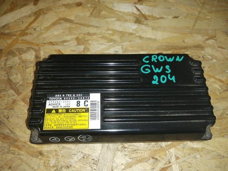 Блок управления abs Toyota Crown GWS204 2GR 2012 (б/у)