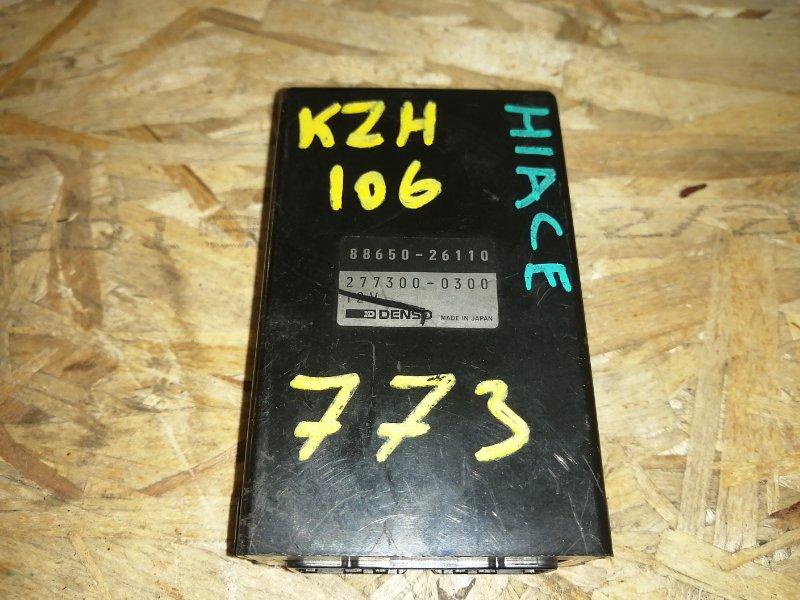 Блок управления климат-контролем Toyota Hiace KZH106 (б/у)