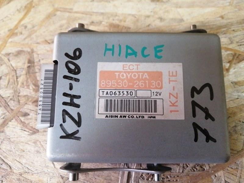 Блок переключения кпп Toyota Hiace KZH106 (б/у)