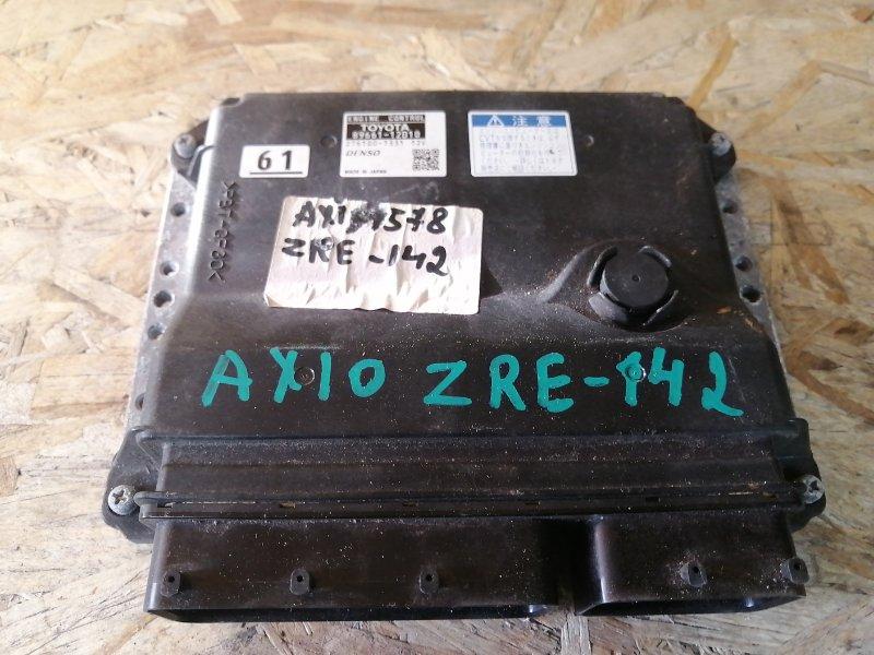 Блок управления двс Toyota Corolla  Axio ZRE142 (б/у)