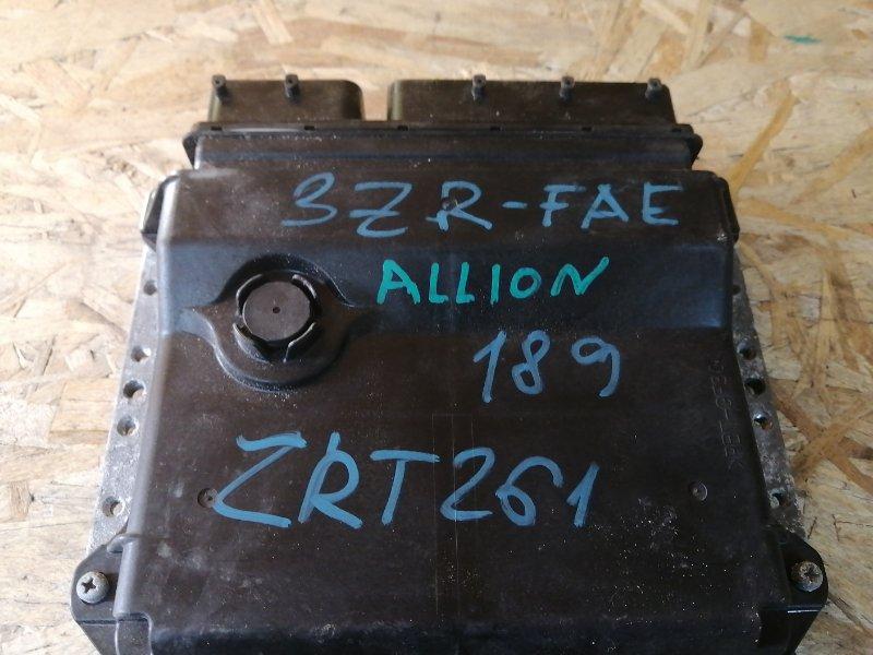 Блок управления efi Toyota Allion ZRT261 (б/у)