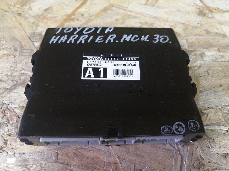 Блок управления abs Toyota Harrier MCU30 1MZ 2005 (б/у)