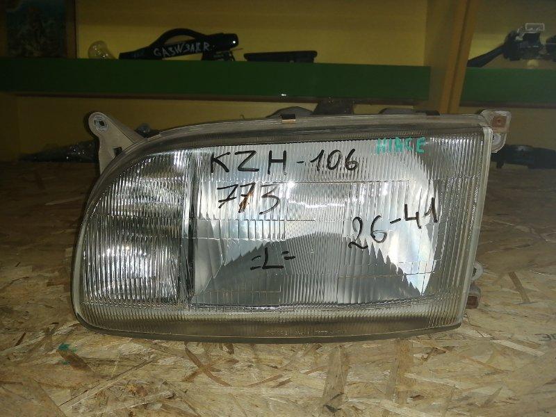 Фара Toyota Hiace KZH106 левая (б/у)