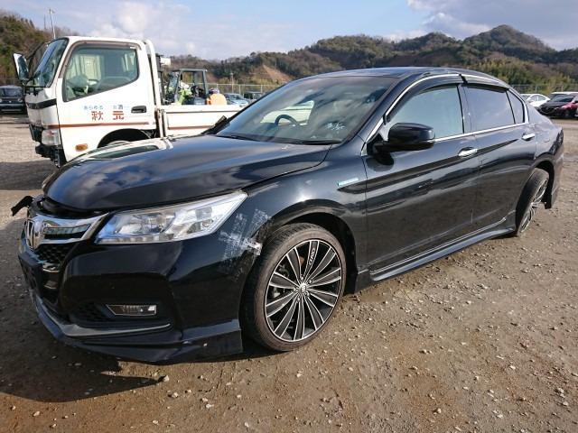 Стойка кузова средняя Honda Accord CR6 LFA-MF8 2013 левая (б/у)