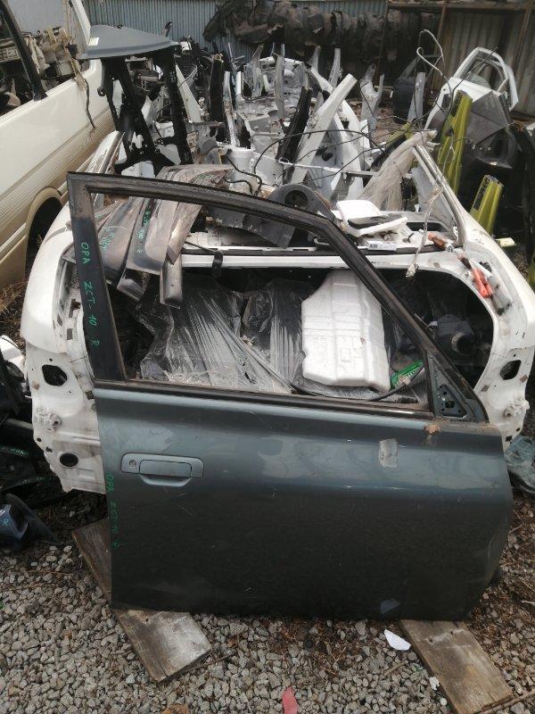 Дверь Toyota Opa ZCT10 передняя правая (б/у)