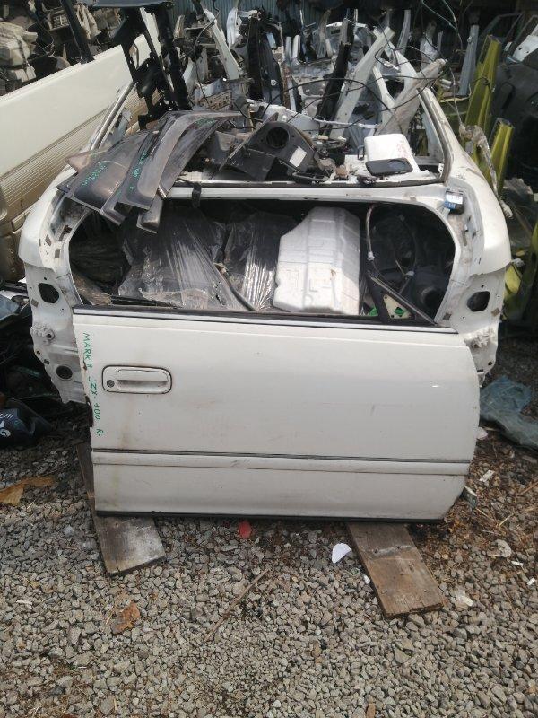 Дверь Toyota Mark Ii JZX100 передняя правая (б/у)