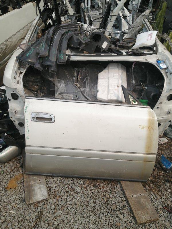 Дверь Toyota Crown JZS151 передняя правая (б/у)