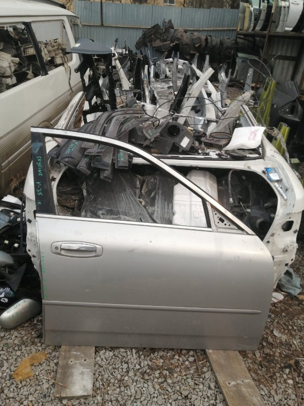 Дверь Nissan Skyline V35 передняя правая (б/у)
