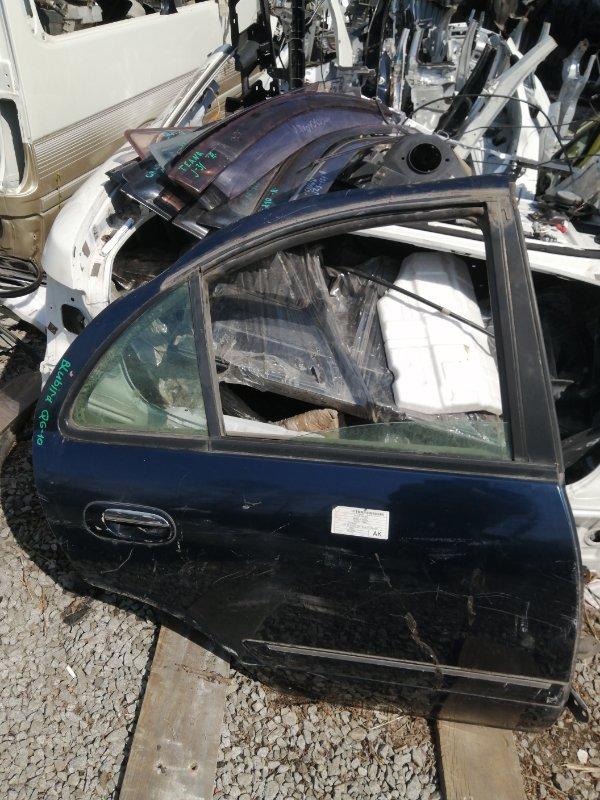 Дверь Nissan Bluebird Sylphy QG10 задняя правая (б/у)