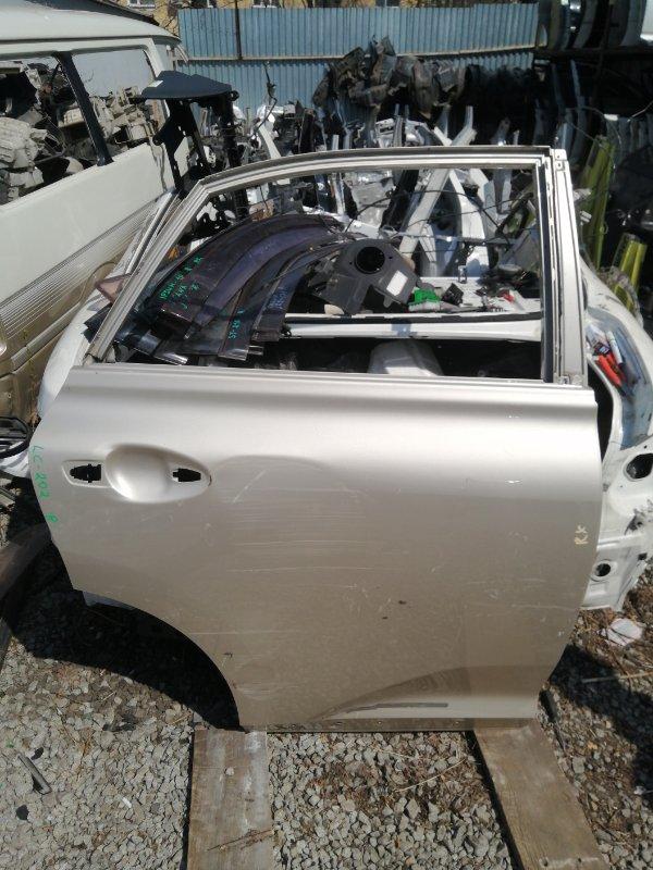 Дверь Lexus Rx350 задняя правая (б/у)