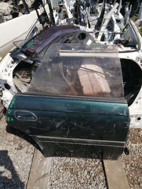 Дверь Toyota Carina Ed ST185 задняя правая (б/у)