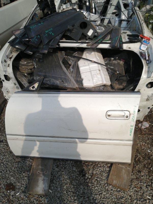 Дверь Toyota Mark Ii JZX100 передняя левая (б/у)
