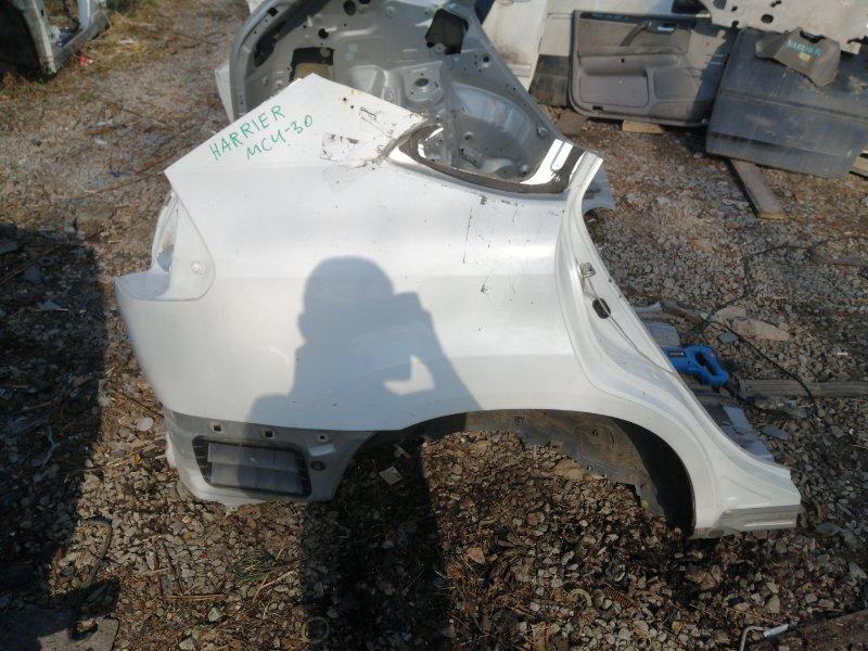 Крыло Toyota Harrier MCU30 1MZ 2005 заднее правое (б/у)