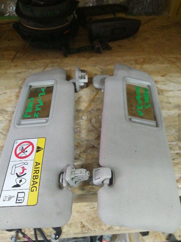 Козырек солнцезащитный Toyota Prius ZVW30 (б/у)