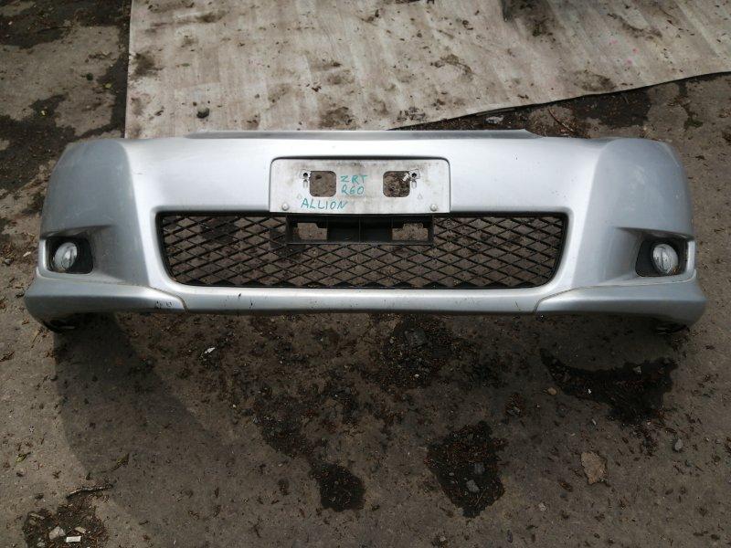 Бампер Toyota Allion ZRT265 2ZR 2008 передний (б/у)
