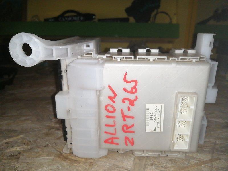Блок предохранителей Toyota Allion ZRT265 2ZR 2008 (б/у)
