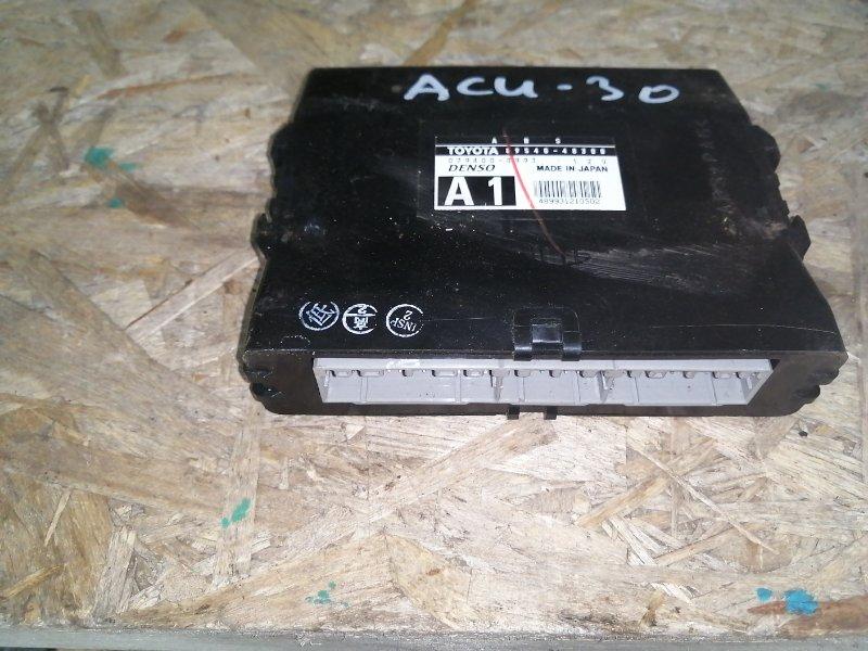 Блок управления abs Toyota Harrier ACU30 (б/у)