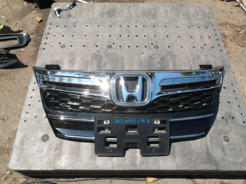 Решетка радиатора Honda Accord CR6 LFA-MF8 2013 (б/у)