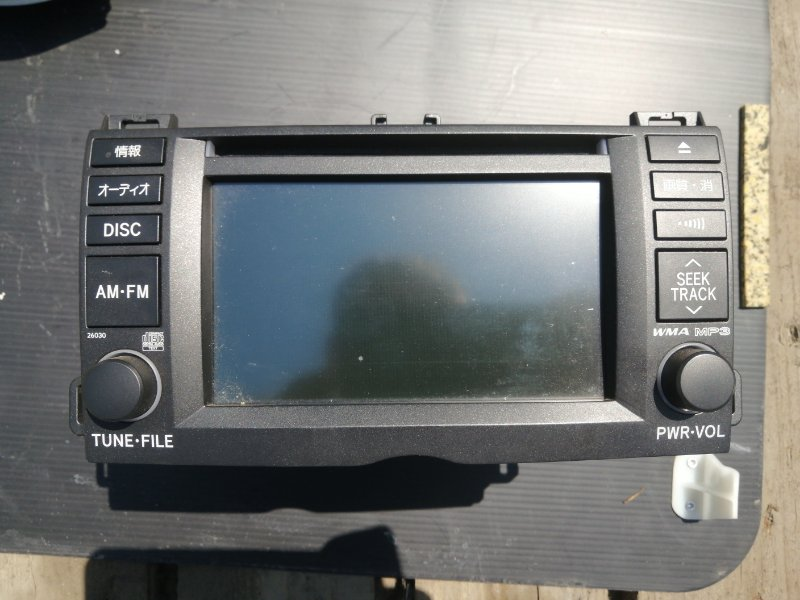 Монитор Toyota Allion ZRT265 2ZR 2008 (б/у)