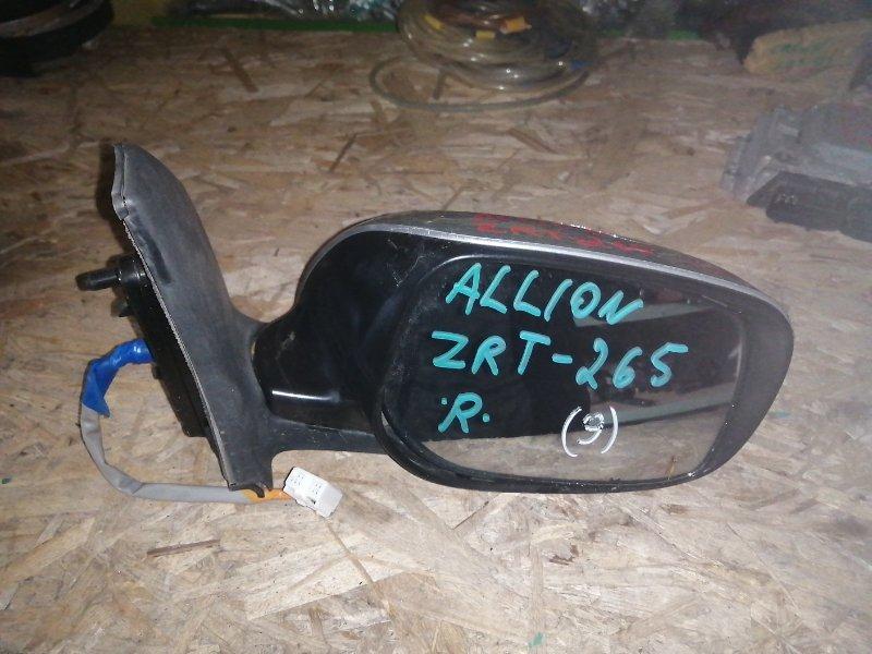 Уши Toyota Allion ZRT265 2ZR 2008 правые (б/у)