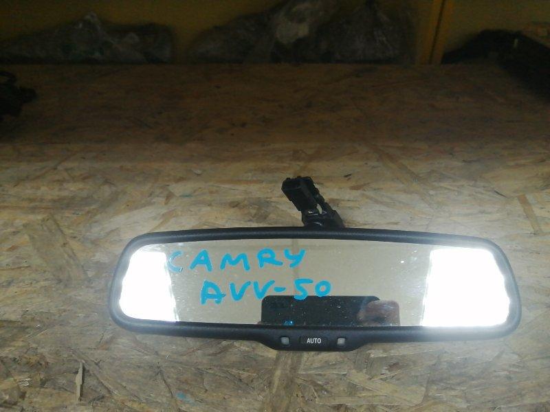 Зеркало салона Toyota Camry AVV50 2AR-2JM 2016 (б/у)