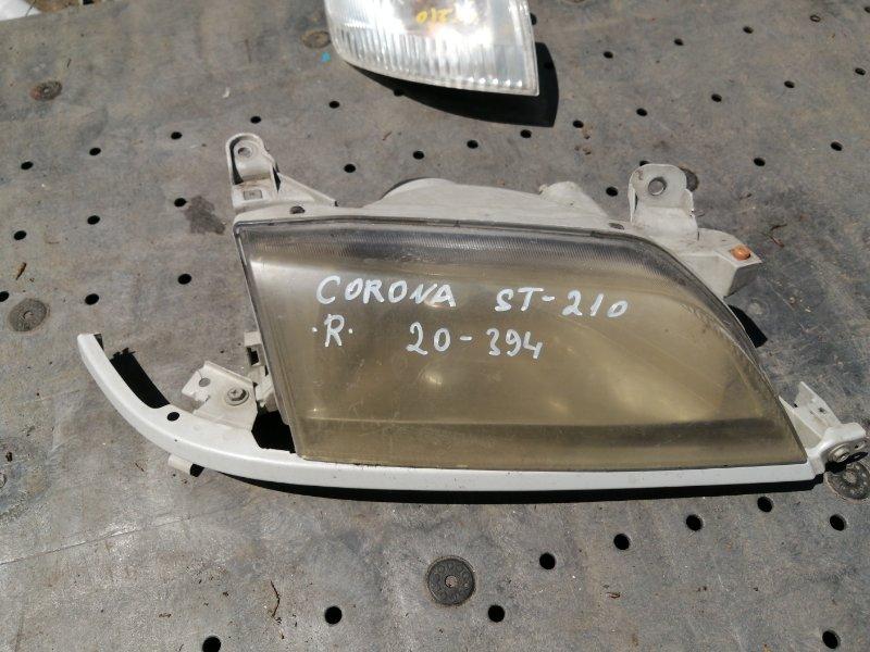 Фара Toyota Corona ST210 правая (б/у)