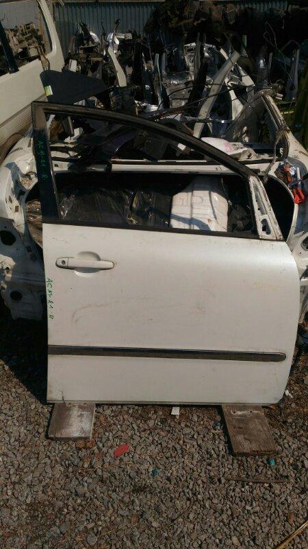 Дверь Toyota Ipsum ACM-21 передняя правая (б/у)
