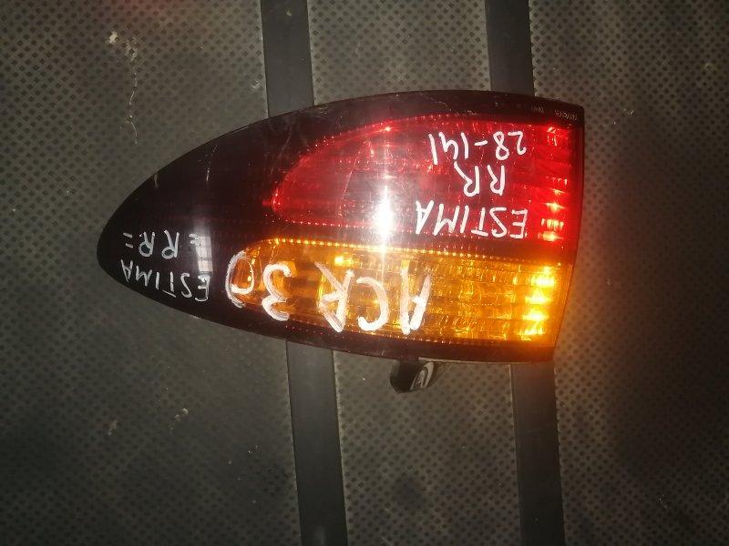 Стоп-сигнал Toyota Estima ACR30 задний правый (б/у)