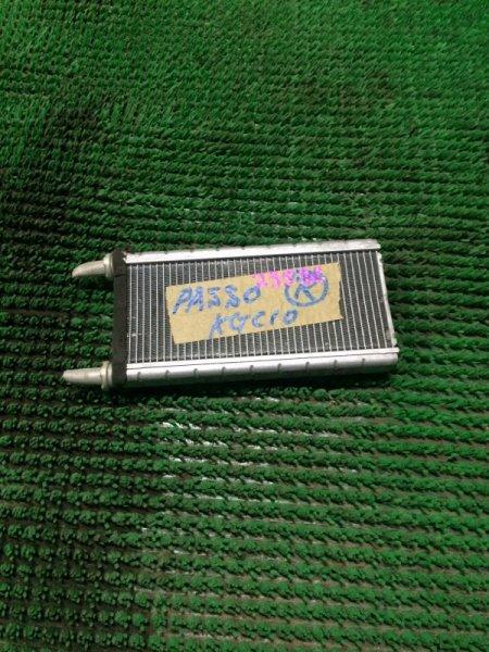 Радиатор печки Toyota Passo KGC10