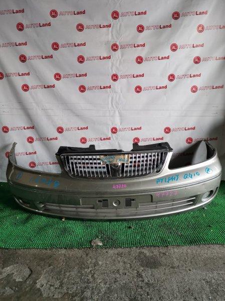 Бампер Nissan Bluebird Sylphy QG10 передний