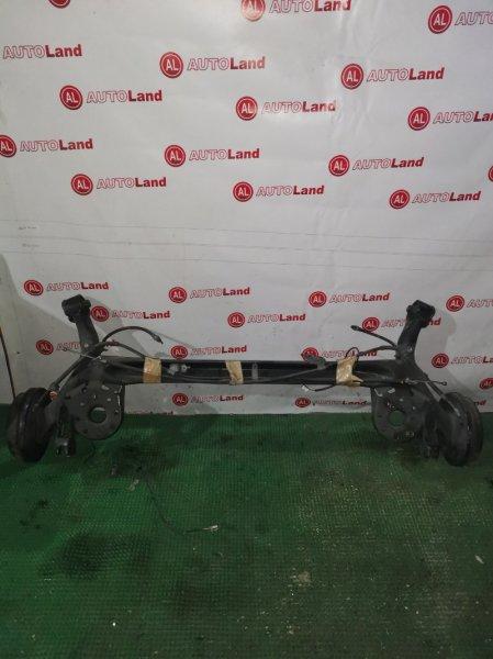 Задняя балка со ступицами Toyota Vitz KSP90 задняя