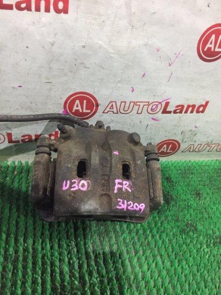Суппорт тормозной Nissan Presage U30 передний правый