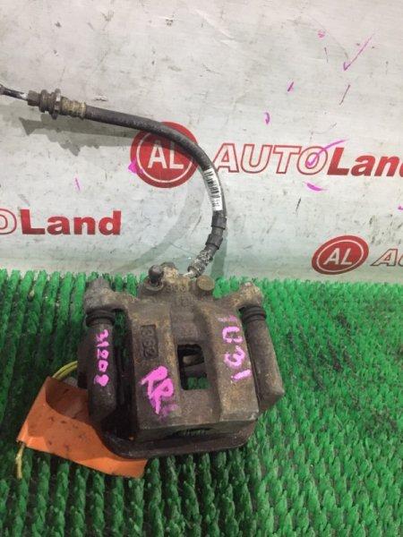 Суппорт тормозной Nissan Presage U31 задний правый