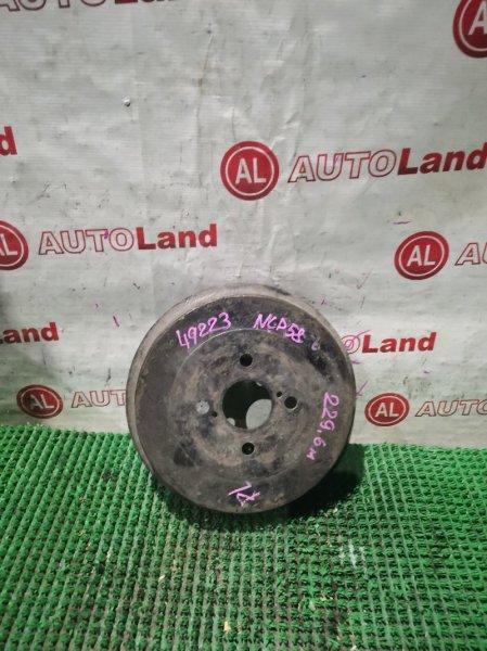 Тормозной барабан Toyota Probox NCP58 задний