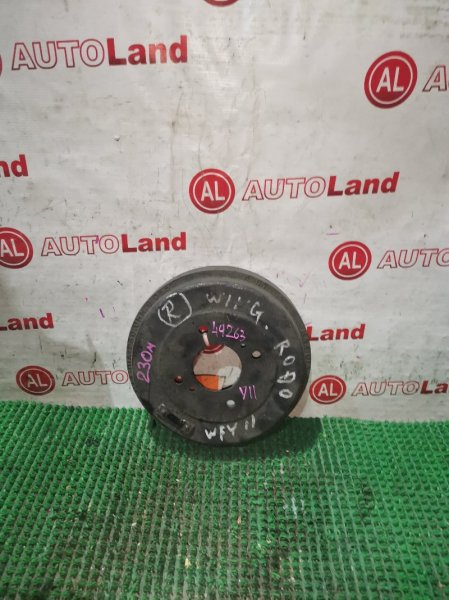Тормозной барабан Nissan Wingroad Y11 задний