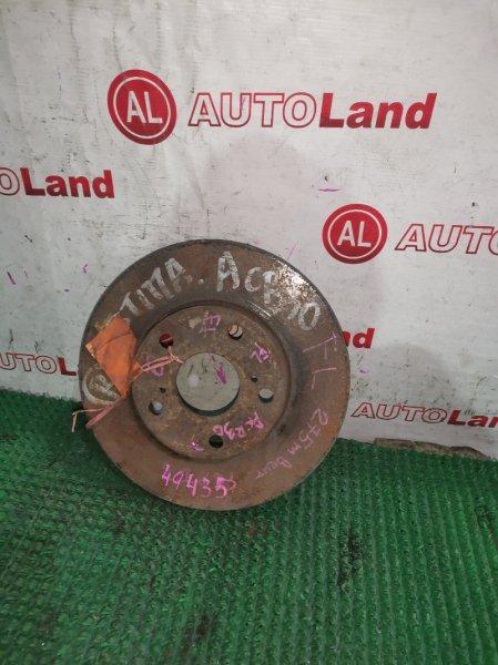 Диск тормозной Toyota Estima ACR30 передний