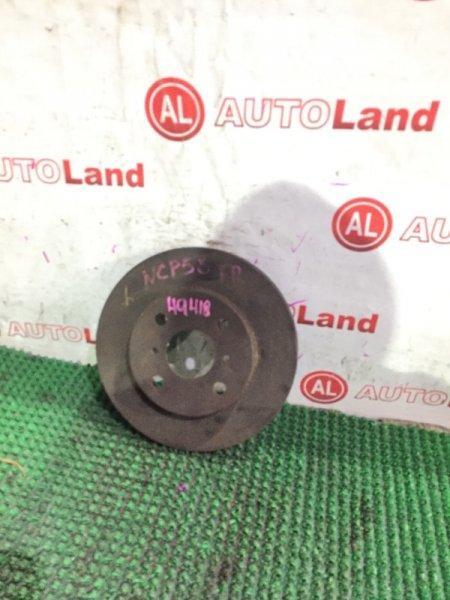 Диск тормозной Toyota Probox NCP58 передний