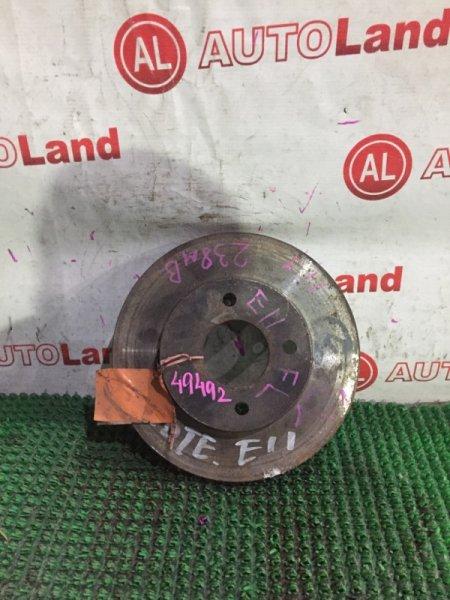 Диск тормозной Nissan Tiida E11 передний