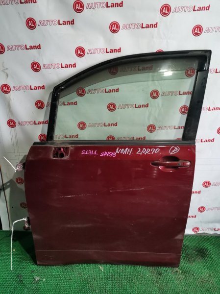 Дверь Toyota Noah ZRR70 передняя левая